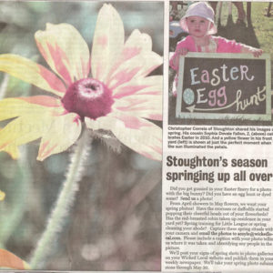 Published Work: Stoughton Journal, CJC Photography