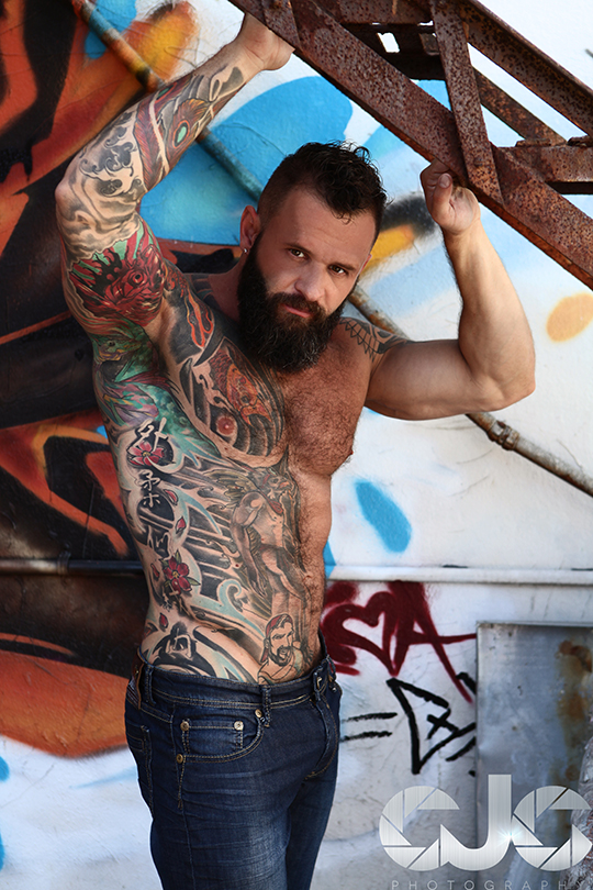 CJC Photography, Tank Joey, Tank Joey tattoo model, Florida photographer, book cover photographer, romance book cover photographer
