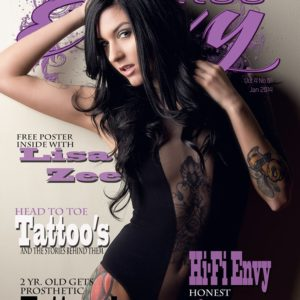 Tattoo Envy Magazine, tattoos, cjc photography, boston