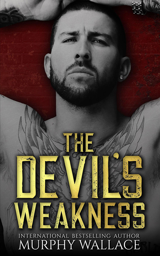 The Devil's Weakness by Murphy Wallace, Murphy Wallace author, Bryan Snell model and actor