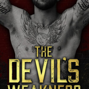 The Devil's Weakness by Murphy Wallace, Murphy Wallace author, Bryan Snell actor, CJC Photography book cover photographer
