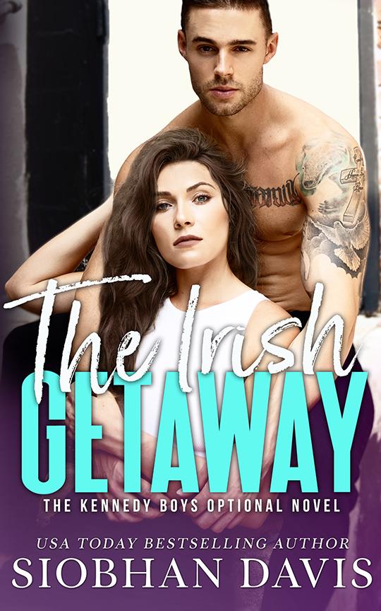 The Irish Getaway by Siobhan Davis , Siobhan Davis romance author, Eric Taylor Guilmette model