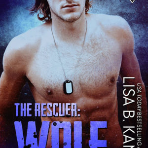 The Rescuer: Wolf by Lisa B. Kamps, Lisa B. Kamps romance author, Mason Kreidt model, CJC Photography book cover photographer