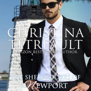The Sherbrookes of Newport Box Set by Christina Tetreault, Christina Tetreault author, Daniel Rengering model, CJC Photography, Florida photographer, book cover photographer, romance book cover photographer