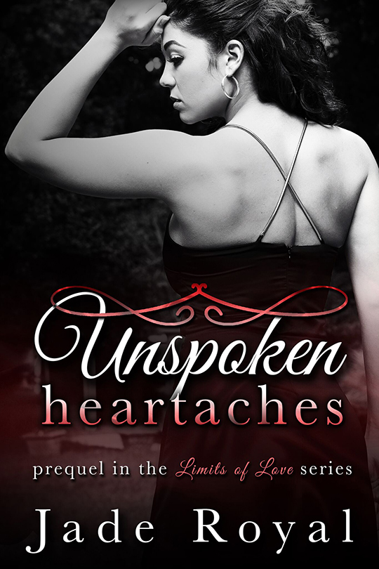 Unspoken Heartaches by Jade Royal, Jade Royal author, Rachael Baltes model, CJC Photography, Florida photographer, book cover photographer, romance book cover photographer