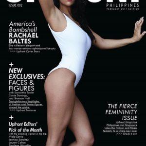 UpFront Magazine, Rachael Baltes, Rachael Baltes fitness model, CJC Photography, Florida photographer, book cover photographer, romance book cover photographer
