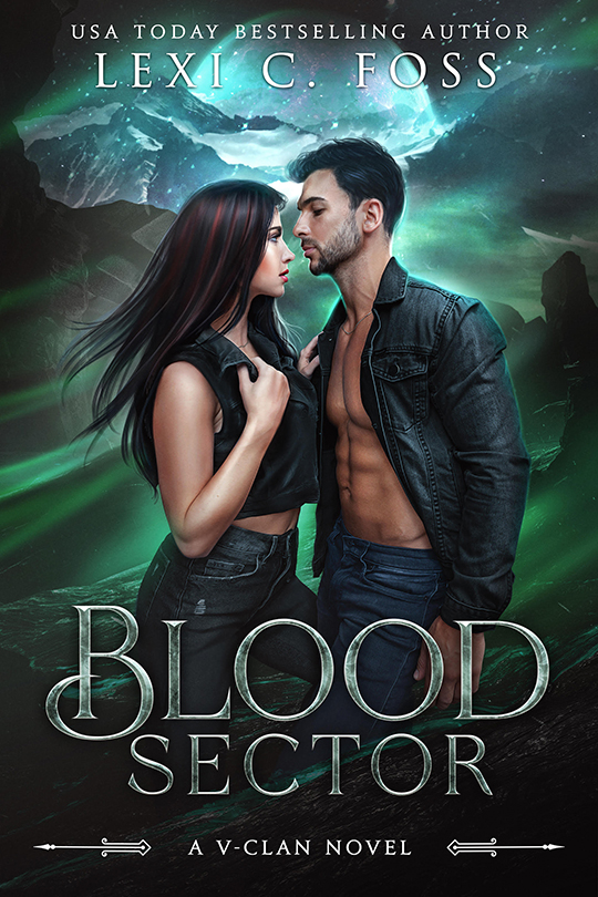 Blood Sector by Lexi C. Foss, Lexi C. Foss author, CJC Photography book cover photograpgher