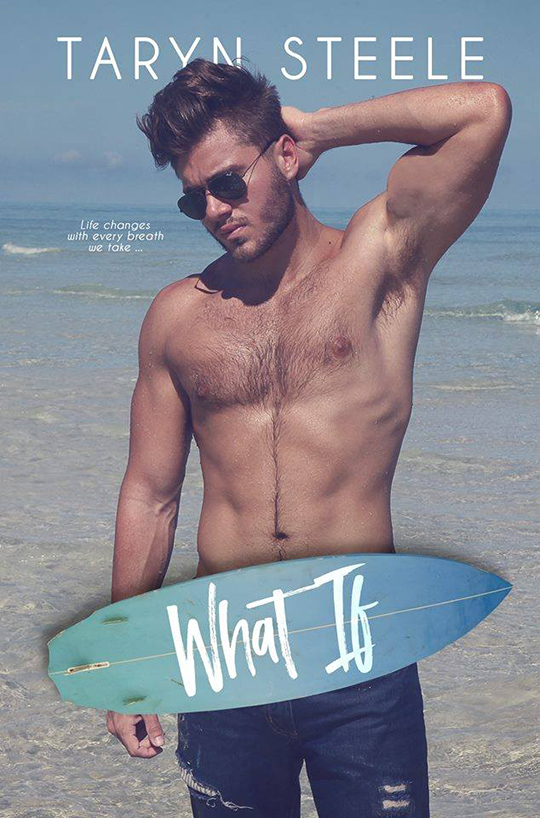 What If by Taryn Steele, Taryn Steele author, Gus Caleb Smyrnios model, CJC Photography, Florida photographer, book cover photographer, romance book cover photographer