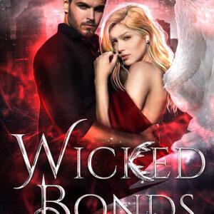 Wicked Bonds by Lexi C. Foss, Lexi C. Foss author, Dan Rengerine model, Lauren Summer Barrett model, CJC Photography book cover photographer