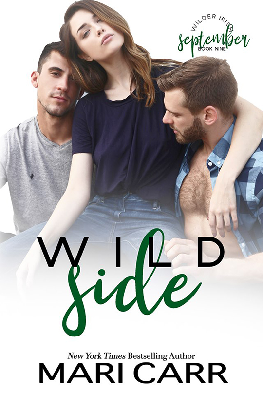 Wild Side by Mari Carr, Mari Carr romance author, Brock Grady model, Lauren Summer model