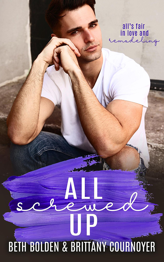 All Screwed Up by Beth Bolden & Brittany Cournoyer, Beth Bolden author, Brittany Cournoyer author, CJC Photography book cover photographer