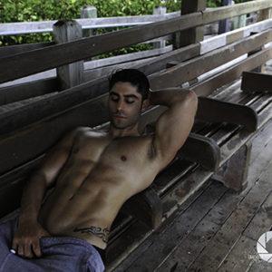 CJC Photography, Boston, book cover photographer, Assad Shalhoub, fitness model