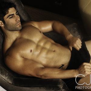 CJC Photography, Boston, Assad Shalhoub modeling and fitness, book cover photographer