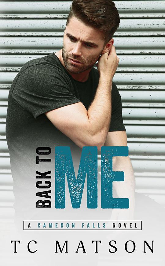 Back To Me by TC Matson, TC Matson romance author, Ashley Gibson model, CJC Photography romance book cover photographer
