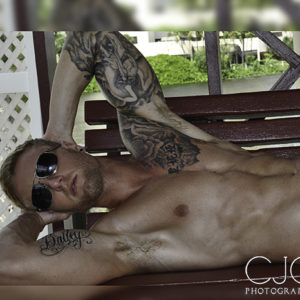 CJC Photography, Boston, book cover photographer, bailey lee, tattoos