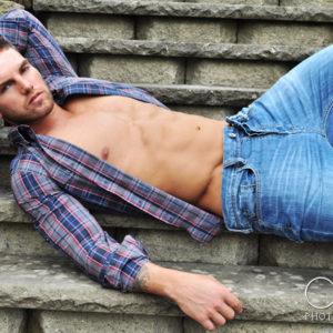 male portraits, fitness, tattoos, boston, cjc photography