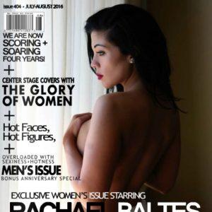 Center Stage Magazine, Rachael Baltes, CJC Photography, Magazine Cover, Women's Fitness