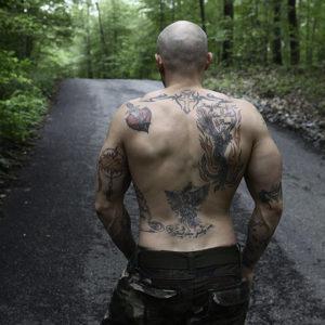 CJC Photography, Boston, book cover photographer, Chris Boutot, fitness model, tattoo model