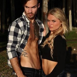CJC Photography, Cody Smith model, Kristen Lazarus-Wood model, Florida photographer, book cover photographer, romance book cover photographer