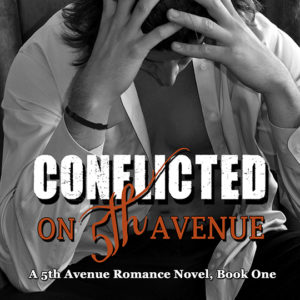 CJC Photography, Boston, book cover photographer, Abbie St. Claire, Conflicted on 5th Avenue