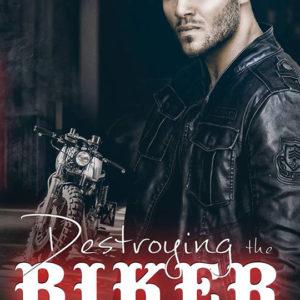 Destroying The Biker by Cassie Alexandra, Gus Caleb Smyrnios, CJC Photography, Florida photographer, book cover photographer, romance book cover photographer