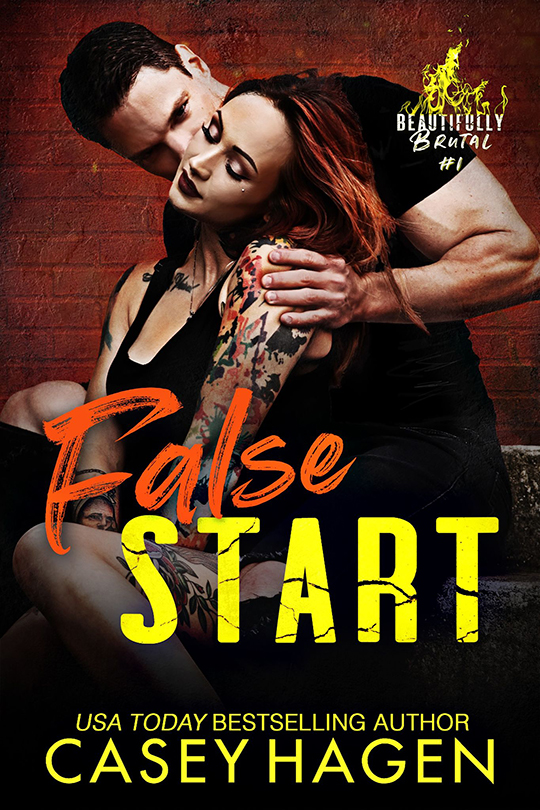 False Start by Casey Hagen, Casey Hagen Romance author, David Wills model