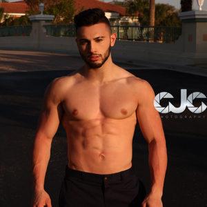 CJC Photography, Joey Santa Lucia model, Florida photographer, book cover photographer, romance book cover photographer