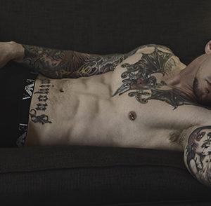 CJC Photography, Boston, book cover photographer, Lance Jones, tattoo model
