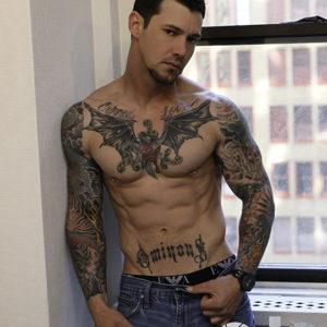 CJC Photography, Boston, book cover photographer, Lance Jones, Arizona, Tattoo book cover Model