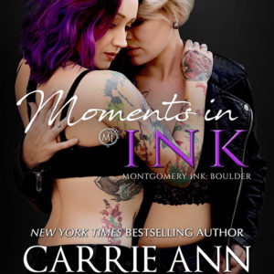 Moments In Ink by Carrie Ann Ryan, Carrie Ann Ryan best selling author, CJC Photography book cover photographer