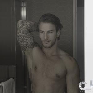 CJC Photography, Boston, book cover photographer, Sam Wiles, Toronto, Tattoo Model