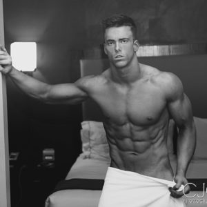 CJC Photography, Boston, book cover photographer, Tanner Chidester, fitness model