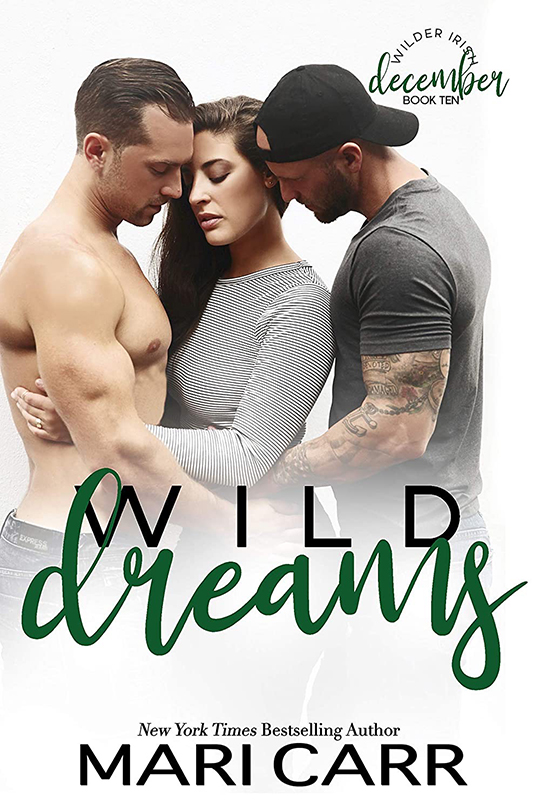 Wild Dreams by Mari Carr, Mari Carr romance author, Gideon Connelly model, Blake Sevani model, CJC Photography book cover photographer